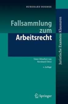 Burkhard Boemke: Fallsammlung zum Arbeitsrecht, Buch