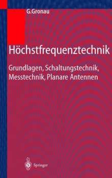 Gregor Gronau: Höchstfrequenztechnik, Buch