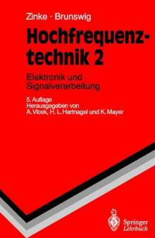 H. Brunswig: Hochfrequenztechnik, Buch