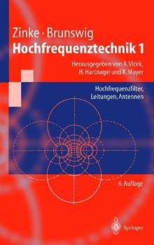 Heinrich Brunswig: Hochfrequenztechnik 1, Buch