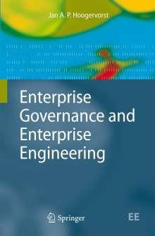 Jan A. P. Hoogervorst: Enterprise Governance and Enterprise Engineering, Buch