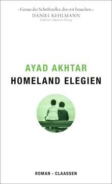 Ayad Akhtar: Homeland Elegien, Buch