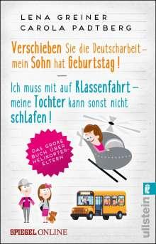Lena Greiner: Doppelband Helikopter-Eltern, Buch