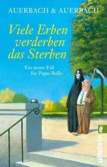 Auerbach & Auerbach: Viele Erben verderben das Sterben, Buch