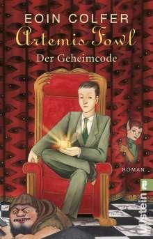 Eoin Colfer: Artemis Fowl - Der Geheimcode, Buch