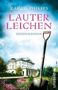 Zarah Philips: Lauter Leichen, Buch