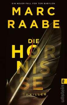 Marc Raabe: Die Hornisse, Buch