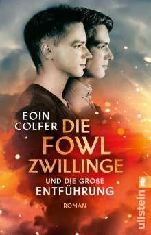 Eoin Colfer: Die Fowl-Zwillinge und die große Entführung, Buch