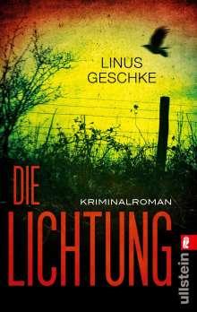 Linus Geschke: Die Lichtung, Buch