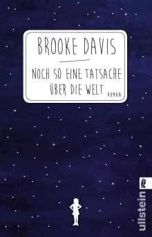 Brooke Davis: Noch so eine Tatsache über die Welt, Buch