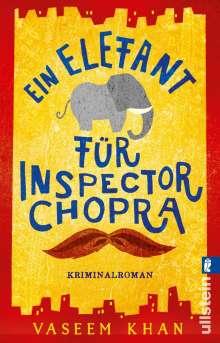 Vaseem Khan: Ein Elefant für Inspector Chopra, Buch