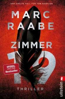 Marc Raabe: Zimmer 19, Buch