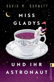 David M. Barnett: Miss Gladys und ihr Astronaut, Buch