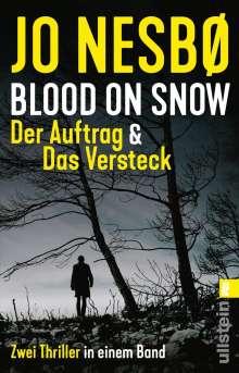 Jo Nesbø: Blood on Snow. Der Auftrag & Das Versteck, Buch
