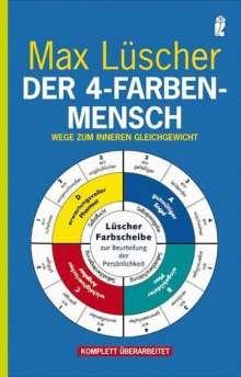 Max Lüscher: Der 4-Farben-Mensch, Buch