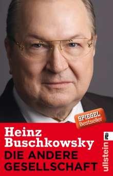 Heinz Buschkowsky: Die andere Gesellschaft, Buch