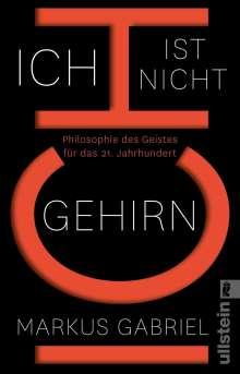 Markus Gabriel: Ich ist nicht Gehirn, Buch