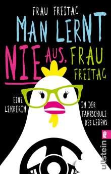 Frau Freitag: Man lernt nie aus, Frau Freitag!, Buch