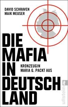 David Schraven: Die Mafia in Deutschland, Buch
