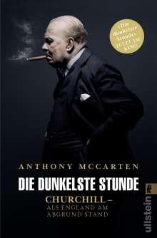 Anthony McCarten: Die dunkelste Stunde, Buch
