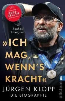"""Raphael Honigstein: """"Ich mag, wenn's kracht."""", Buch"""