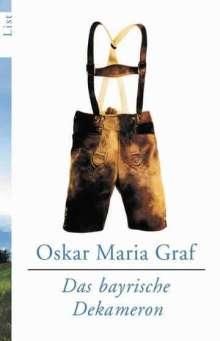 Oskar Maria Graf: Das bayrische Dekameron, Buch