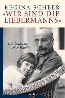 """Regina Scheer: """"Wir sind die Liebermanns"""", Buch"""