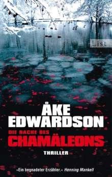 Åke Edwardson: Die Rache des Chamäleons, Buch