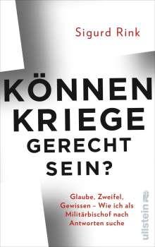 Sigurd Rink: Können Kriege gerecht sein?, Buch