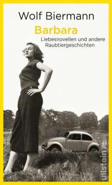 Wolf Biermann: Barbara, Buch