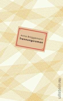 Anna Brüggemann: Trennungsroman, Buch