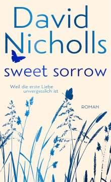 David Nicholls: Sweet Sorrow (Blaue Edition), Buch