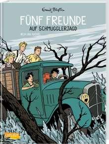 Enid Blyton: Fünf Freunde 4: Fünf Freunde auf Schmugglerjagd, Buch