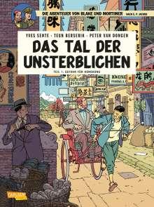 Yves Sente: Blake und Mortimer 22: Das Tal der Unsterblichen, Teil 1: Gefahr für Hongkong, Buch