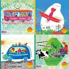 James Krüss: Maxi-Pixi-4er-Set 75: Henriette Bimmelbahn und ihre Freunde (4x1 Exemplar), Buch