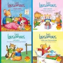 Maxi-Pixi-4er-Set 80: Meine liebsten Geschichten von Leo Lausemaus (4x1 Exemplar), Buch
