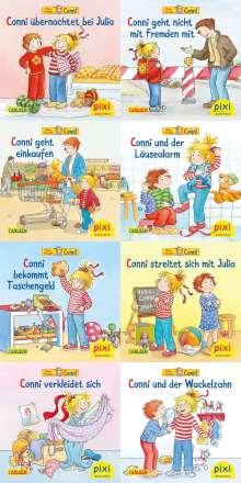 Liane Schneider: Pixi-Bundle 8er Serie 260. Meine Freundin Conni (8x1 Exemplar), Diverse