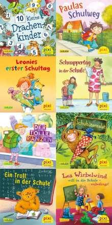 Antje Bones: Pixi Bundle 8er Serie 257: Pixi kommt in die Schule (8x1 Exemplar), Buch