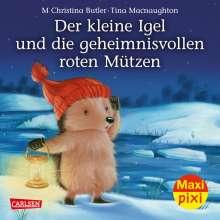 M Christina Butler: VE 5 Der kleine Igel und die geheimnisvollen roten Mützen (5 Exemplare), Diverse