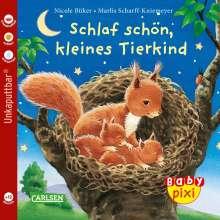 Nicole Büker: Baby Pixi 40: VE 5 Schlaf schön, kleines Tierkind, Diverse