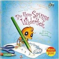 Diana Amft: Maxi Pixi 314: VE 5 Die kleine Spinne Widerlich: Mein buntes Mal- und Spielebuch (5 Exemplare), Buch