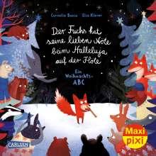 Cornelia Boese: Maxi Pixi 354: VE 5 Der Fuchs hat seine lieben Nöte beim Halleluja auf der Flöte (5 Exemplare), Buch