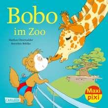Markus Osterwalder: Maxi Pixi 351: VE 5 Bobo im Zoo (5 Exemplare), Buch