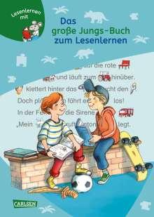 Christa Holtei: Das große Jungs-Buch zum Lesenlernen, Buch