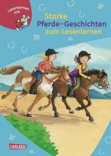 Petra Wiese: Starke Pferde-Geschichten zum Lesenlernen, Buch
