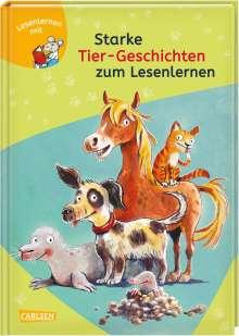 Karin Schliehe: LESEMAUS zum Lesenlernen Sammelbände: Starke Tier-Geschichten zum Lesenlernen, Buch