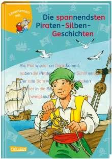 Imke Rudel: LESEMAUS zum Lesenlernen Sammelbände: Die spannendsten Piraten-Silben-Geschichten, Buch