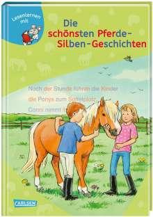 Petra Wiese: LESEMAUS zum Lesenlernen Sammelbände: Die schönsten Pferde-Silben-Geschichten, Buch