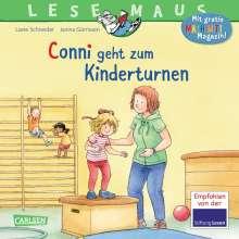 Liane Schneider: LESEMAUS 114: Conni geht zum Kinderturnen, Buch