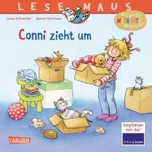 Liane Schneider: LESEMAUS 66: Conni zieht um, Buch